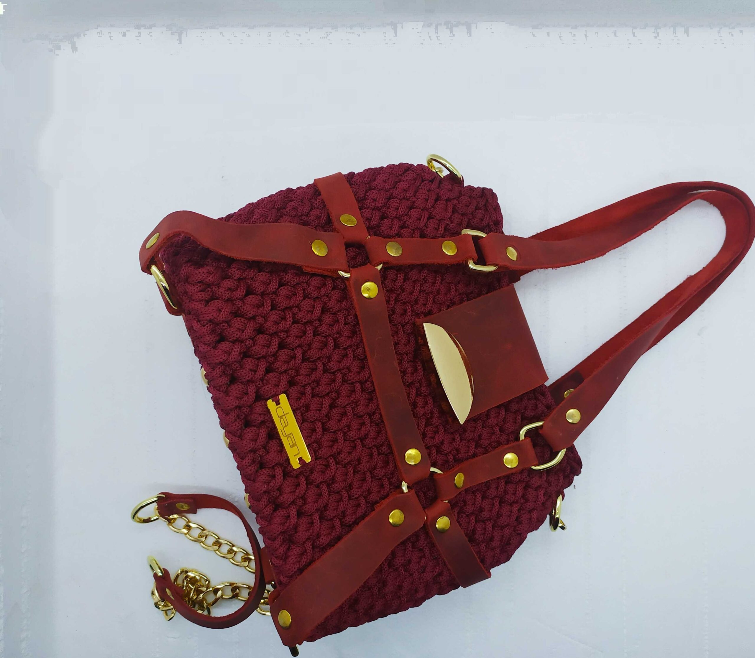 Original bag with leather straps